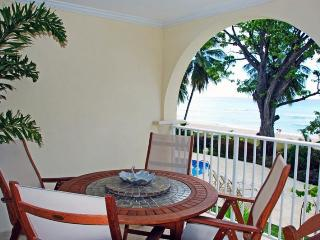 Classic 2 bedroom apartment, private terrace, with views of the Caribbean Sea - Dover vacation rentals