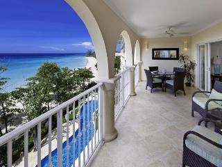Classic 3 bedroom apartment, located on the beach, overlooking the Caribbean Sea - Dover vacation rentals