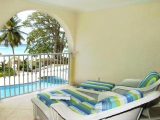 Brilliant 2 bedroom beachfront apartment with fantastic views over the Caribbean Sea. Great pool and nightlife nearby. - Dover vacation rentals