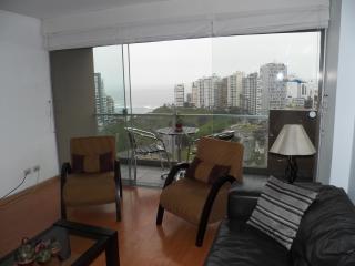 Ocean View Spectacular/balcony Romantic Miraflores - Lima vacation rentals