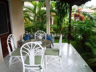 Aptm with garden in Residence on the beach - Las Terrenas vacation rentals
