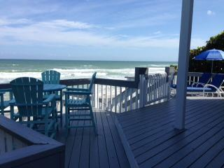 Direct Oceanfront 4/3 Home sleeps up to 9 - New Smyrna Beach vacation rentals