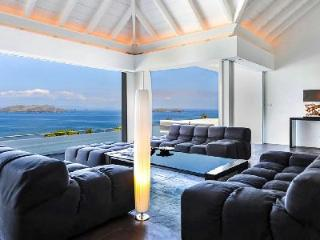 Sun-drenched Villa Khajuraho with ocean view bedrooms, pool & daily maid - Pointe Milou vacation rentals