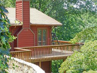 Moose Manor - Waterfall and Gazebo - Franklin vacation rentals