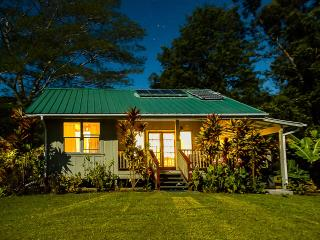 Romantic Honeymoon Cottage 8 acres Wi-fi solar - Naalehu vacation rentals