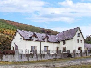MAESGWYN, detached cottage with a woodburning stove, WiFi, hot tub, patio with furniture, near Beguildy, Ref 916684 - Llanwrthwl vacation rentals