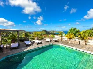 Hillside Mapou with wraparound pool deck, exceptional views & daily maid - Petites Salines vacation rentals