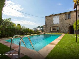 Mougins village w pool 2 homes 4 bed south france - Mougins vacation rentals
