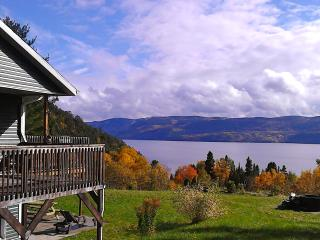 Splendid Panorama Fjord Saguenay! - Sainte-Rose-du-Nord vacation rentals