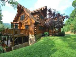 Private Beautiful 4100 Sq Ft Luxury Cedar Log Home - Gatlinburg vacation rentals