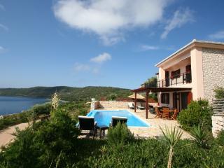 Seafront villa ADAM, Lefkada,6+2,pool,LAST MINUTE - Vasiliki vacation rentals