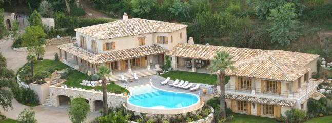 Magnificent luxury villa in Cannes, 10p - Bargemon vacation rentals