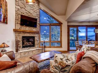 Slopeside Saddlewood - True ski in/out, hot tub - Breckenridge vacation rentals