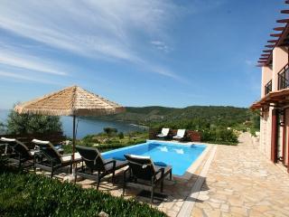 Seafront villa EVA,Lefkada,8+2,pool, LAST MINUTE - Vasiliki vacation rentals