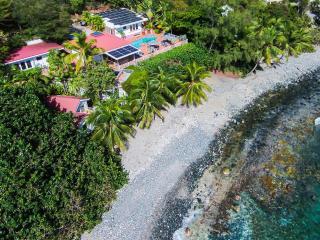 Fabulous & Private Beachfront Villa for 2-10! - Saint John vacation rentals