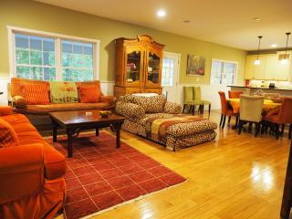 "Luxury 5 BDRM Hot Tub 80"" TV Tempur-Pedic beds XM - Washington DC vacation rentals"