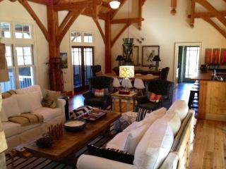Rustic designer cabi - modern mountain details! - Tuckasegee vacation rentals