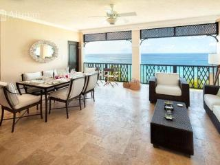 luxury beachfront condo within the newly developed Sandy Cove Complex, adjacent to the Zagat rated, Cliff Restaurant - Lascelles Hill vacation rentals