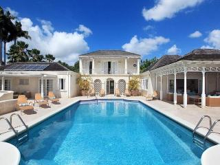 Elegant 5 bedroom Georgian style home  with large swimming pool and outdoor dining - Sandy Lane vacation rentals