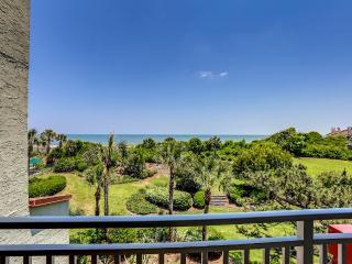 Comfortable two bedroom ocean front condo - Amelia Island vacation rentals
