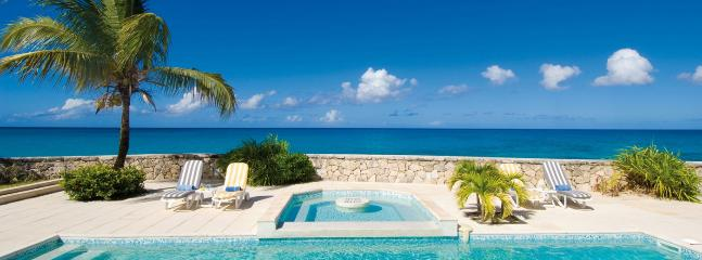 SPECIAL OFFER: St. Martin Villa 115 Superb Beachfront Location At The End Of Beautiful Plum Bay Beach. Enjoy The Spectacular Sunsets And Fabulous Sea Views. - Image 1 - Plum Bay - rentals