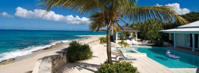 SPECIAL OFFER: St. Martin Villa 372 Superb Beachfront Location At The End Of Beautiful Plum Bay Beach. Enjoy The Spectacular Sun - Plum Bay vacation rentals