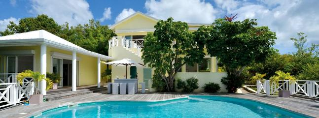 SPECIAL OFFER: St. Martin Villa 129 Breathtaking Water Views From This Beautiful Villa Perched High On The Coastline Of Terres Basses. - Image 1 - Terres Basses - rentals