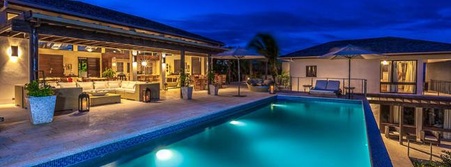 AVAILABLE CHRISTMAS & NEW YEARS: Anguilla Villa 63 Sits On A Slight Landscaped Rise Overlooking The Caribbean Sea And The Mountains Of St. Maarten Beyond. - Image 1 - Little Harbour - rentals