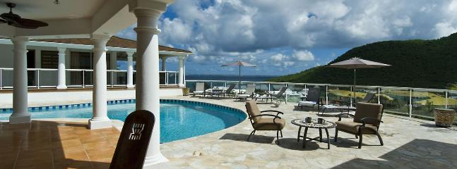 SPECIAL OFFER: St. Martin Villa 33 Commanding Stunning Views Over The Bay And Marina. - Image 1 - Anse Marcel - rentals