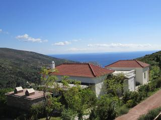 Design villa in Adros with panoramic view around - Gavrion vacation rentals