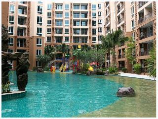 New 1-bed apartment. Atlantis Condo Resort Jomtien. C 526 - Pattaya vacation rentals