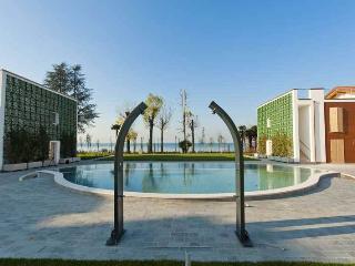 Appartamento vista lago con giardino e piscina - Castelnuovo del Garda vacation rentals