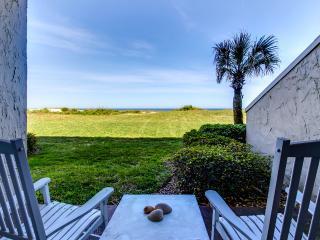 Cozy ground floor one bedroom ocean front condo - Amelia Island vacation rentals