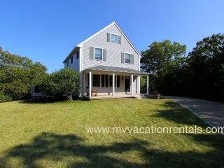 BALAR - Vineyard Meadow Farms Home, Close to Gorgeous Long Point Beach, Contemporary Styling, Central AC, Wi-Fi, Private Yard an - Aquinnah vacation rentals