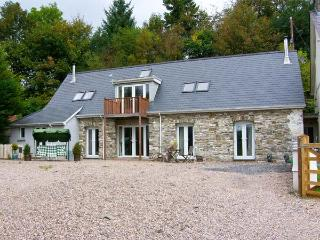 THE BARN AT MAESTEILE, Sky TV, WiFi, superb country views, en-suite facility, mulit-fuel stoves, near Llanybydder, Ref. 916883 - Llansadwrn vacation rentals