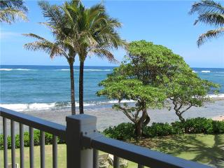 Kapaa Shore Resort #227-OCEANFRONT w/Wash/Dryer! - Kapaa vacation rentals