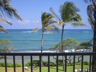 Kapaa Shore Resort #305-OCEANFRONT!Sun/Moonrises! - Kapaa vacation rentals