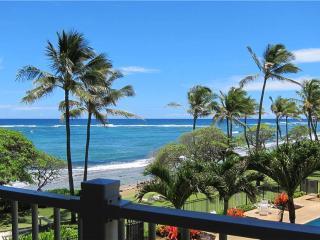 Kapaa Shore Resort #324-OCEANVIEWS, washer/dryer!! - Kapaa vacation rentals