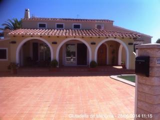 Charming villa next to the beach - Cala'n Blanes vacation rentals