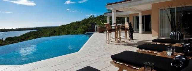SPECIAL OFFER: St. Martin Villa 106 Nestled On A Hillside In The Heart Of The Exclusive Enclave Of Terres Basses, Offering Open Views Of Baie Longue And The Ocean. - Image 1 - Saint Martin-Sint Maarten - rentals