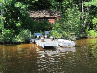 Secluded, Lakeside, Split-log Cottage with Fireplace, Rowboat - Harrisville vacation rentals