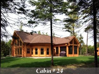 Luxury Quebec Log Cabin - Saint Sauveur des Monts vacation rentals