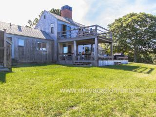 RUNYW - Waterview Upper Makonikey Home,  Distinctive Design by Royal Barry Wills, Two Private Association Beaches, Central A/C - Vineyard Haven vacation rentals