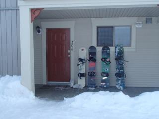 Walk-out unit with ski in/out access direct to the - Silver Star Mountain vacation rentals