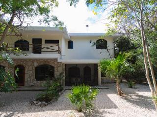 Delightful  retreat, studio/apartment in a jungle setting, right in front of a cenote and cave. - Puerto Aventuras vacation rentals