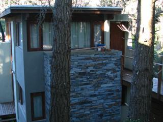 Casa de diseño en 4 desniveles con vista al bosque - Mar Azul vacation rentals