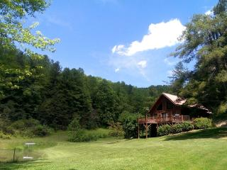 Pond Cove Cabin- On 100 Acres With Breathtaking Panoramic Mountain Views! Private Pond-Float & Fish - Candler vacation rentals