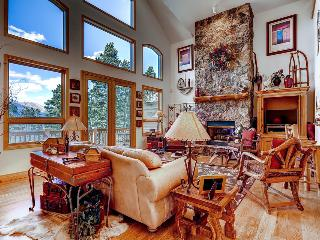 Game room, free shuttle, ski area views! (game room, free shuttle, ski area views) - Mountain High Retreat - Breckenridge vacation rentals