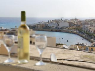 Two Bedroom apartment with terrace and sea views - Marsascala vacation rentals