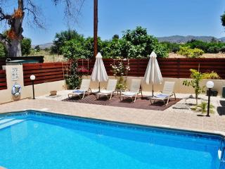 Stunning villa in Paphos, Cyprus with 3 bedrooms, private pool and mountain views - Kissonerga vacation rentals